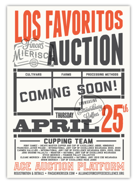 Los Favoritos Auction - COMING SOON!